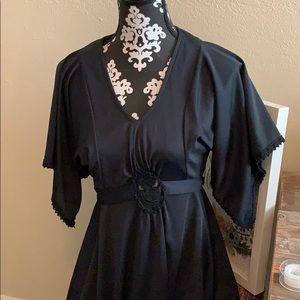 Stunning Vintage black dress